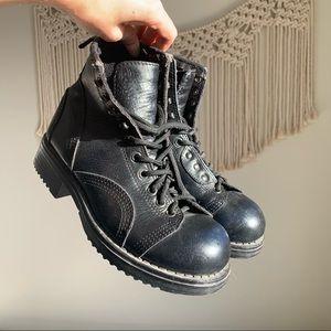 Vintage 90s StoneRidge Leather Punk Boots